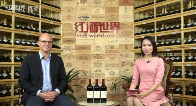 杰克逊家族酒业旗下真理酒庄在红酒世界直播
