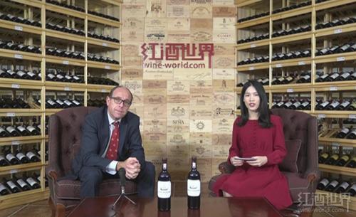 波尔多名庄龙船庄园总监做客红酒世界直播间